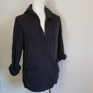 JCrew Rumpled French Terry Hoodie